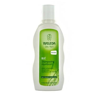 Shampoing équilibrant au Blé cuir chevelu à pellicules 190ml - Weleda