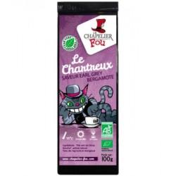 Thé Vert Le Chartreux Earl Grey Bergamote vrac 100 gr Le Chapelier Fou