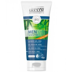 Gel douche 3 en 1 Men Sensitiv 200ml - Lavera