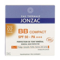 BB Compact Solaire 02 Doré 12g - Eau Thermale Jonzac