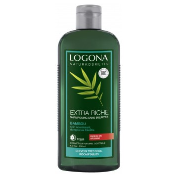 Shampooing Crème au Bambou Brillance Ressort 250ml - Logona