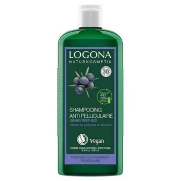 Shampooing anti pelliculaire équilibrant au genévrier 250ml - Logona