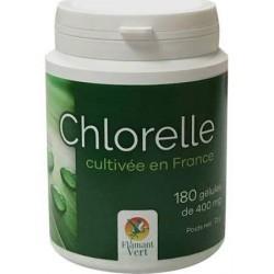 Chlorelle 180 gélules de 400mg Flamant vert