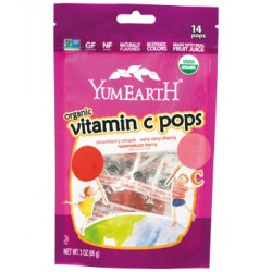 Sucettes Pops Fruits Rouges - Yumearth