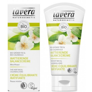Crème équilibrante matifiante 50ml - Lavera