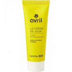 Crème de jour peau normale et mixte à l'Huile de Macadamia 50ml Avril beauté