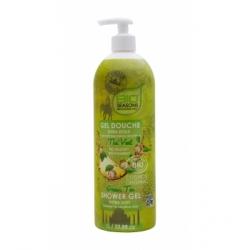 Gel douche Thé vert format familial 1 litre - Bio Seasons