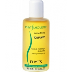 Aroma Phyt's Tonifiant huile de massage drainante 100ml - Phyts