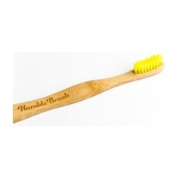 Brosse à dents enfants jaune-Humble Brush
