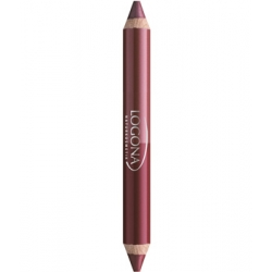 Rouge à lèvres duo crayon n°3 Berry 2.98g - Logona