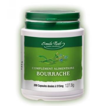 Huile de Bourrache bio 200 capsules 515mg - Emma Noël