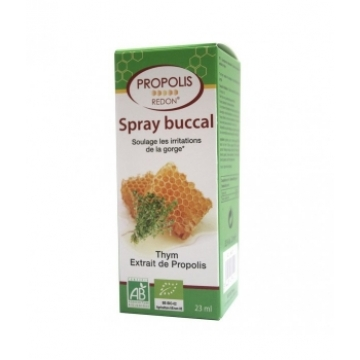 Spray buccal apaisant à la Propolis 23ml - Redon