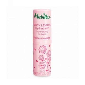 Stick lèvres hydratant Rose Sauvage 3.5g - Melvita