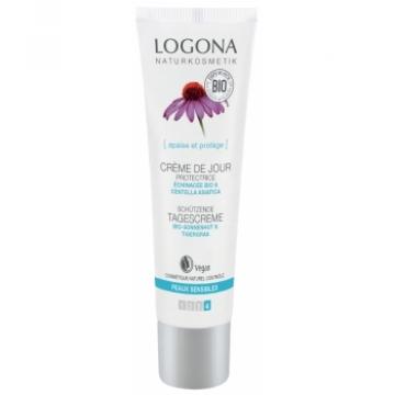 Crème de jour protectrice Echinacée bio Centella asiatica 30ml - Logona