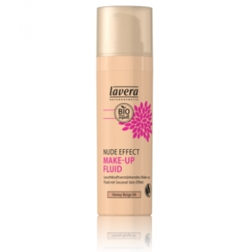 Nude Effect make up fluid Honey beige 04 30ml - Lavera