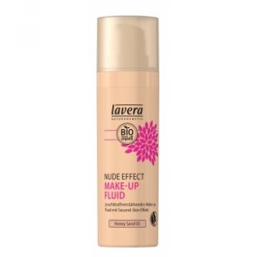 Nude Effect make up fluid Honey sand 03 30ml - Lavera