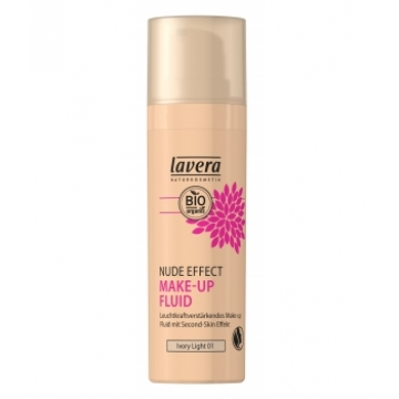 Nude Effect make up fluid Ivory light 01 30ml - Lavera
