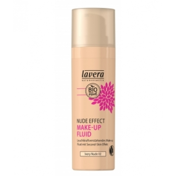 Nude Effect make up fluid Ivory nude 02 30ml - Lavera