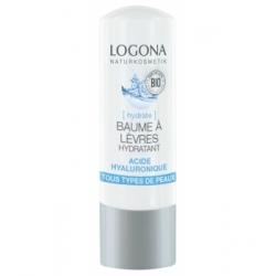Baume à lèvres hydratant acide hyaluronique 4,5 g - Logona