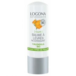 Baume à lèvres nourrissant Calendula bio 4,5 g - Logona