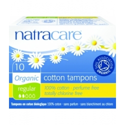 10 Tampons normaux sans applicateur - Natracare
