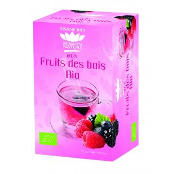 Infusion plaisir Fruits des Bois bio - Romon Nature