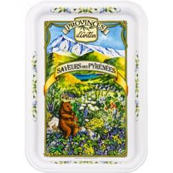 Plateau à thé Saveurs des Pyrénées