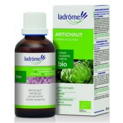 Extrait de plantes fraîches Artichaut bio 50ml - Ladrome