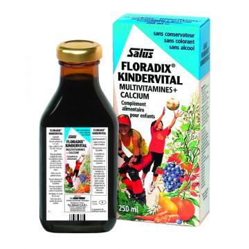 Floradix Kindervital fortifiant pour enfant 250ml - Salus