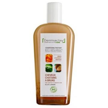 Shampooing traitant Eclat Lumière Cheveux châtains à Bruns 250ml - Dermaclay