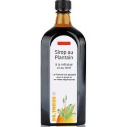 Sirop au plantain, mélasse et miel 250 ml - Dr.Theiss