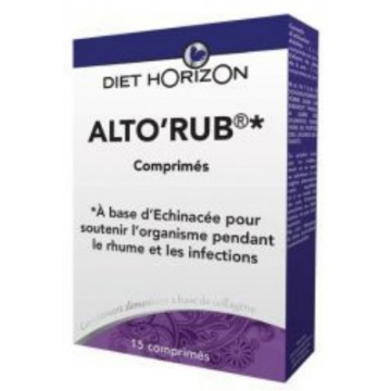 Alto Rub 15 Comprimés - Diet Horizon