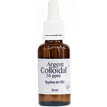 Lotion pour les yeux Argent Colloïdal 20ppm 30ml - Dr.Theiss
