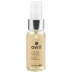 Huile Visage à l'huile d'Argan Bio 50 ml Avril beauté