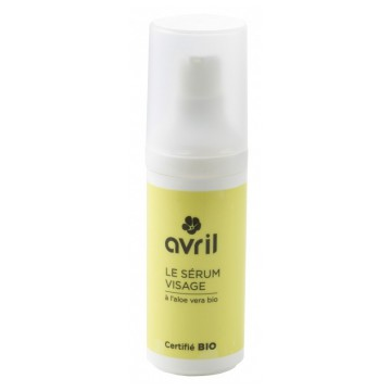 Sérum Visage Bio à l'Aloe Vera 30 ml Avril beauté
