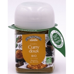 Curry bio Recette Indienne recharge 40 gr - Provence d'Antan