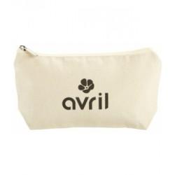 Trousse coton bio petit modèle Avril beauté