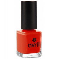 Vernis à ongles Coquelicot n°40 7ml Avril beauté maquillage bio Aromatic provence