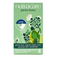 16 protèges slip naturels incurvés longs - Natracare