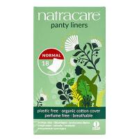 18 protèges slip aux formes arrondies pliées emballés - Natracare