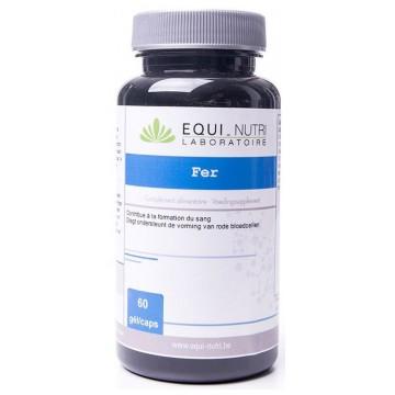 Fer 100 mg 60 gélules - Equi-Nutri