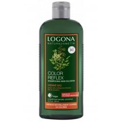 Shampooing Color Reflex reflets henné auburn 250 ml - Logona