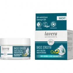 Crème de nuit anti rides à la coenzyme Q10 50ml - Lavera