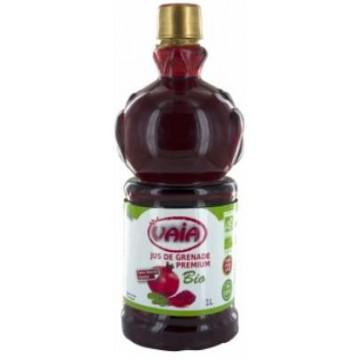 Jus de Grenade bio Premium 100% pur jus 1 litre - VAIA