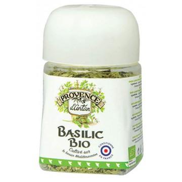 Basilic bio lyophilisé recharge - pot végétal - Provence d'Antan