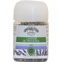 Lavande culinaire bio Provence Recharge 15 gr - Provence d'Antan - aromatic Provence