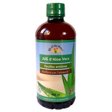 Jus d'Aloe Vera 946 ml - Lily of the desert