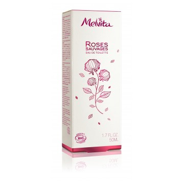Eau de Toilette Rose sauvage 50ml - Melvita