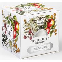 Tisane Be Cube des Alpes bio 24 sachets 60 gr recharge carton - Provence d'Antan, marque Provence d'Antan