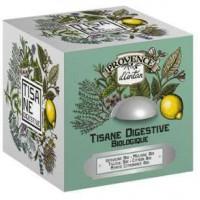 Tisane be cube Digestive bio 24 sachets boite métal - Provence d'Antan